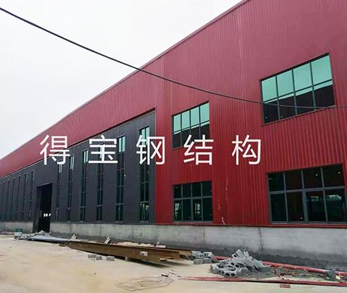 豪华钢构厂房